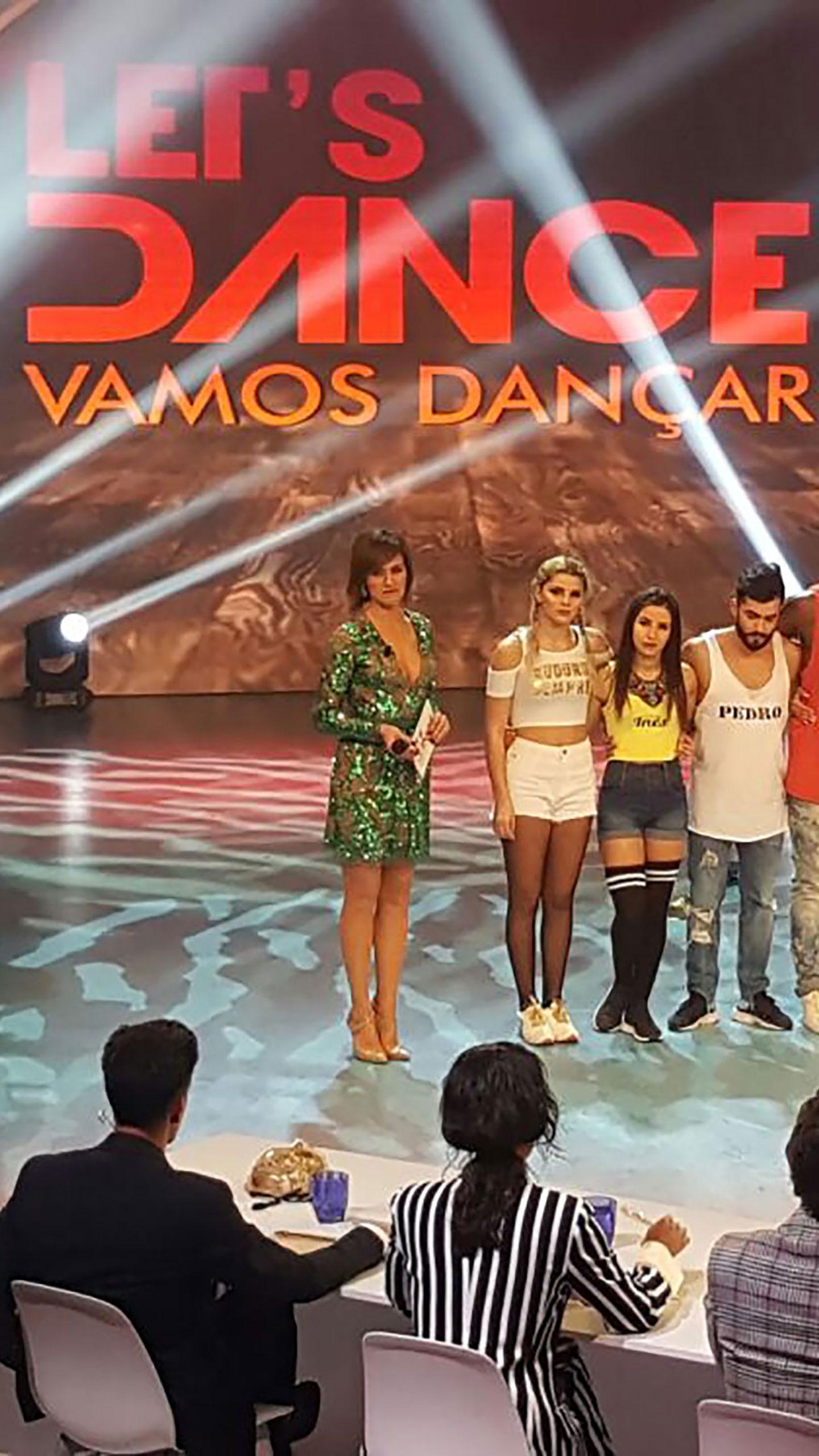 3ª Gala – Bastidores – Let's Dance – Vamos Dançar