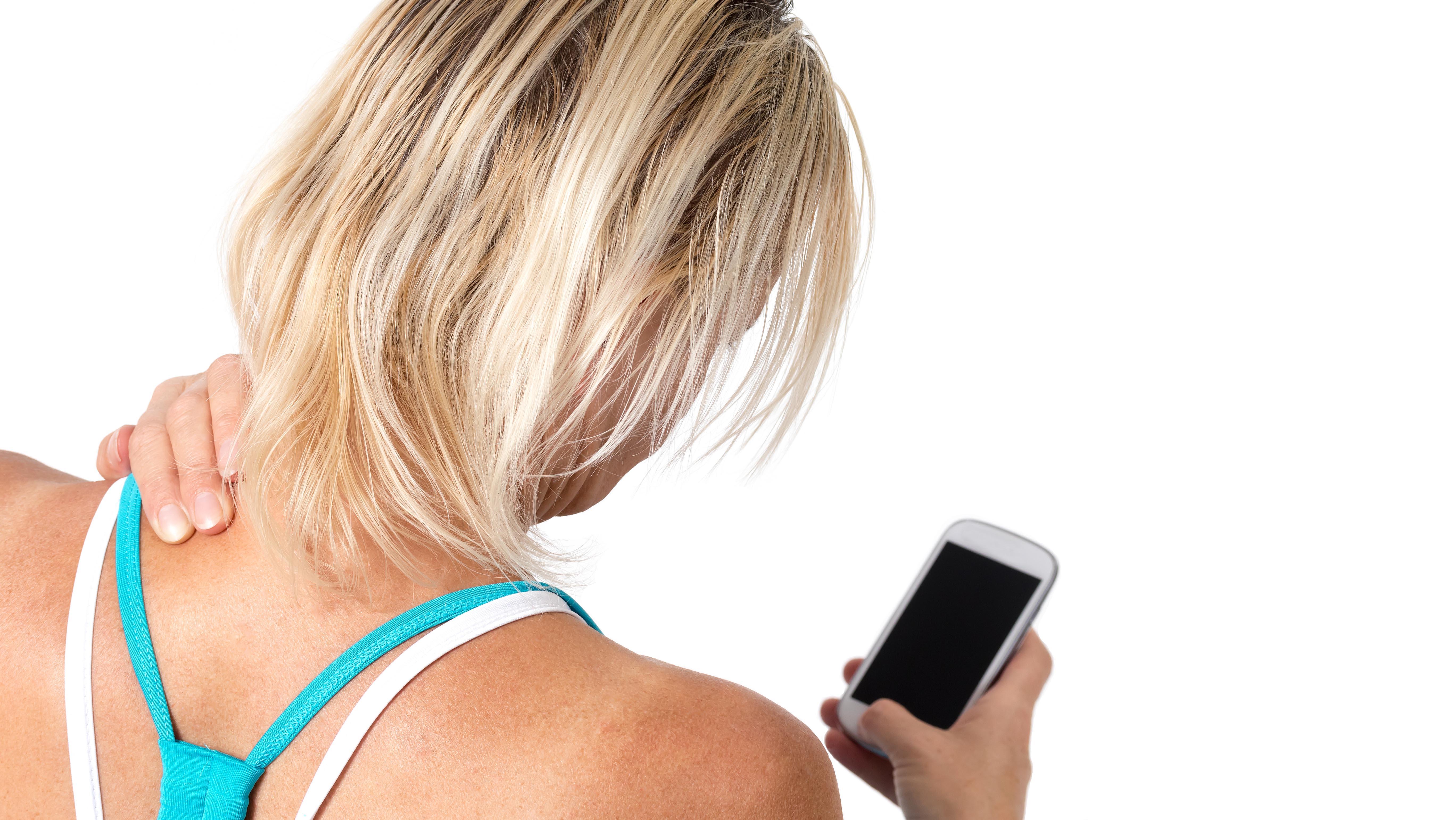 Pescoço de SMS?