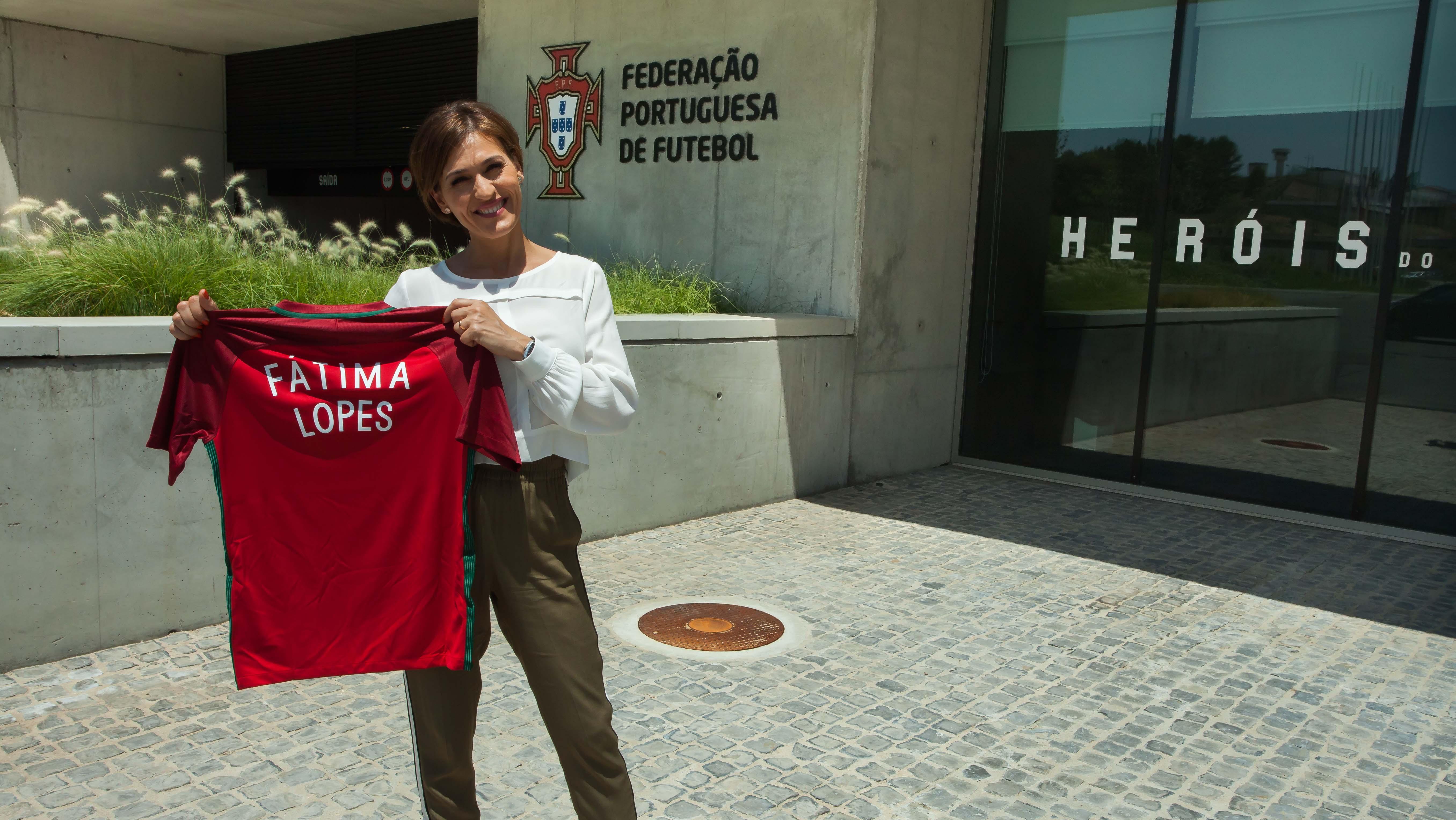 Sou embaixadora do Futebol Feminino